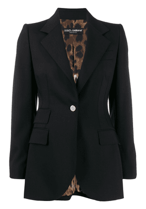 Dolce & Gabbana single-breasted blazer - Black