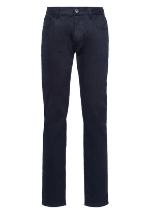 Prada straight-leg full-length jeans - Blue