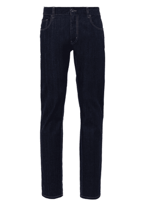 Prada tapered-fit jeans - Blue
