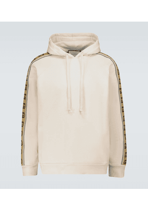 Hooded sweatshirt with GG piping