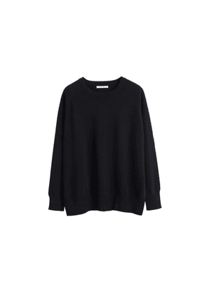 Chinti & Parker Black Cashmere Slouchy Sweater