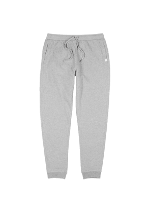 Derek Rose Grey Mélange Cotton Sweatpants