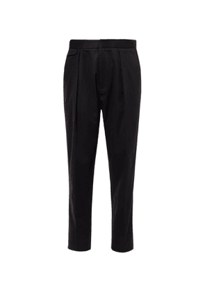 EQUIPMENT - The Original Tapered Pleated Lyocell and Cotton-Blend Twill Trousers - Men - Blue