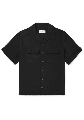 EQUIPMENT - The Original Camp-Collar Silk Shirt - Men - Black