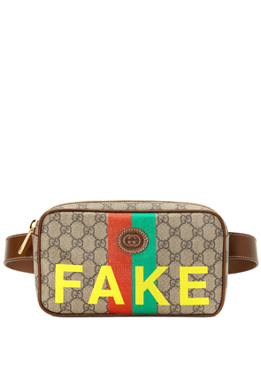 Gucci Fake print belt bag - Neutrals