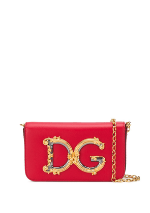 Dolce & Gabbana DG logo cross body bag - Red