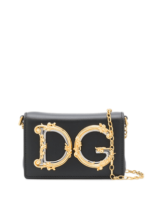 Dolce & Gabbana DG logo belt bag - Black