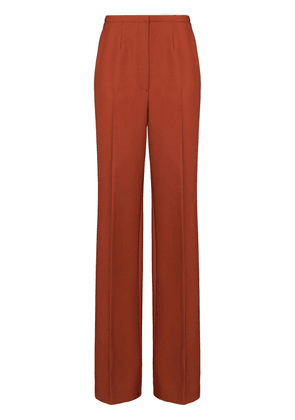 Prada flared trousers - ORANGE