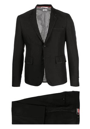 Thom Browne BLACK 3PLY WOOL MOHAIR HIGH ARMHOLE TUXEDO WITH BOW TIE