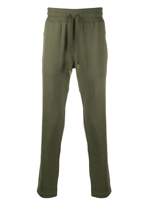 Dolce & Gabbana logo plaque track pants - Green