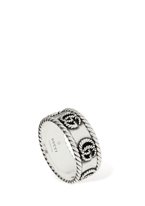 9mm Gg Braided Marmont Thick Ring