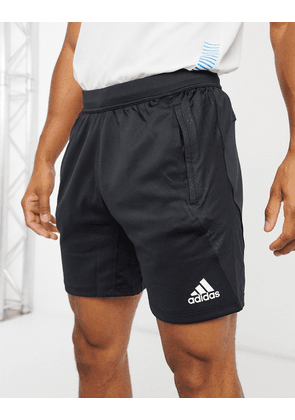 adidas 4KRFT primeblue shorts in black