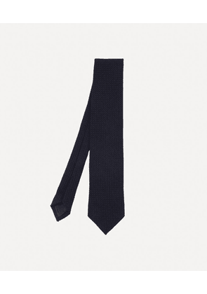 Handrolled Large Knot Grenadine Tie