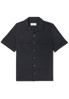 EQUIPMENT - The Original Camp-Collar Silk Shirt - Men - Blue