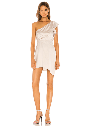 NBD Sutton Mini Dress in Ivory. Size S,XS,XXS.