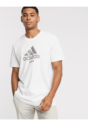 adidas Golf badge of sport t-shirt in white
