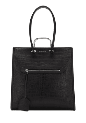 The Tall Story Croc Print Embossed Tote
