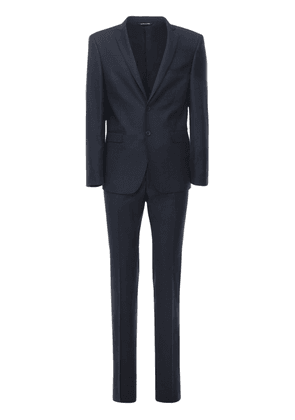 18cm Microfantasia Stretch Wool Suit