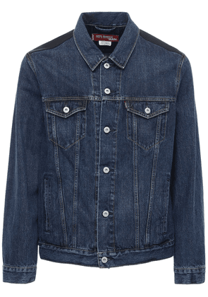 Levi's Cotton Denim Jacket W/ Wool Back