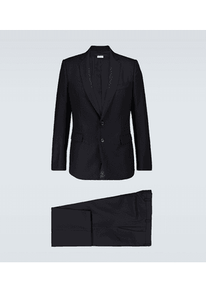 Single-breasted jacquard suit