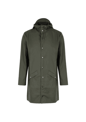 Rains Army Green Rubberised Raincoat