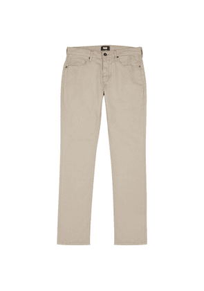 Paige Federal Stone Straight-leg Jeans