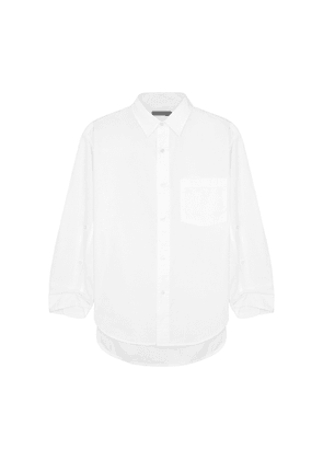 Citizens Of Humanity Kayla White Cotton Shirt