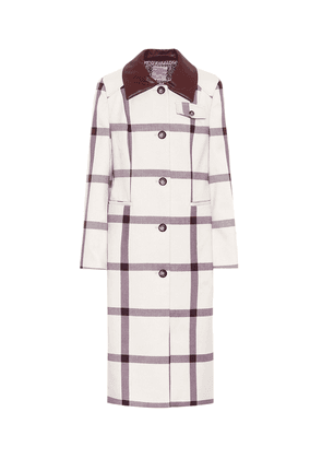Desma checked coat