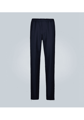Exclusive to Mytheresa – wool-mohair blend pants