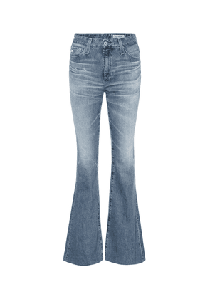 Quinne high-rise flared jeans