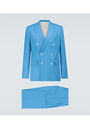 Rio pinstriped wool suit