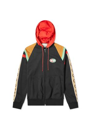 Gucci Paneled Tech Jersey Zip Hoody