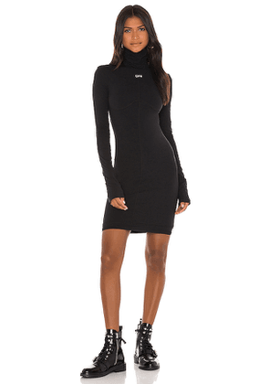 OFF-WHITE Second Skin Dress in Black. Size 38,42.