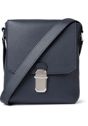 Dunhill - Belgrave Full-Grain Messenger Bag - Men - Blue