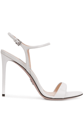 Prada strappy sandals - White