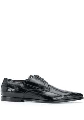 Dolce & Gabbana point-toe Derby shoes - Black