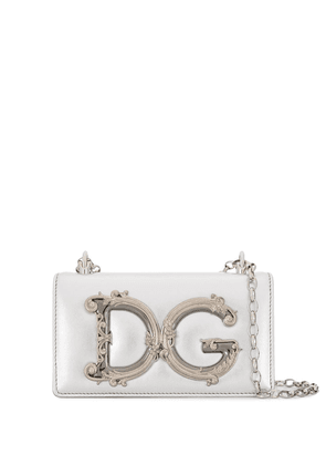 Dolce & Gabbana DG Girls crossbody bag - SILVER