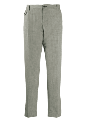 Dolce & Gabbana houndstooth tailored trousers - Black