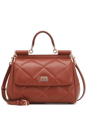 Sicily Medium leather shoulder bag