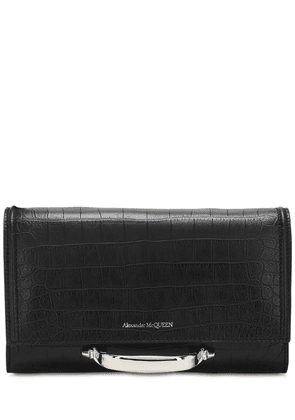 The Small Story Croc Embossed Clutch