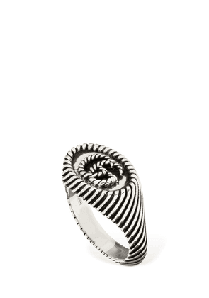 9mm Gg Braided Marmont Chevalier Ring