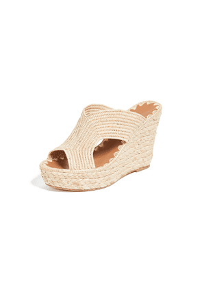Carrie Forbes Lina Wedge Mules