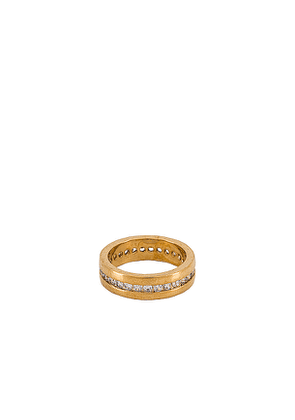 Vanessa Mooney The Posey Ring in Metallic Gold. Size 6,7,8.
