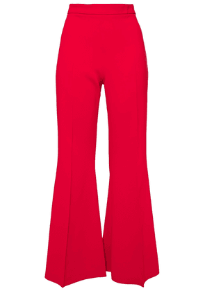 Antonio Berardi Cady Flared Pants Woman Red Size 40
