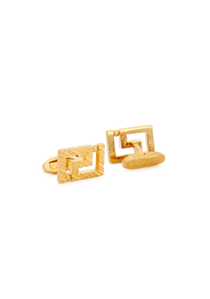 Versace Greco Gold-tone Cufflinks