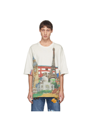 Doublet White Heritage Compressed Earth T-Shirt