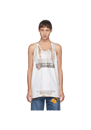 Doublet White Package Tank Top