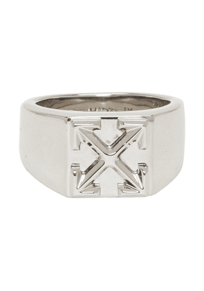 Off-White Silver Arrows Ring