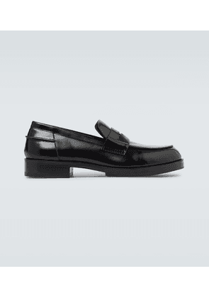 'A' penny loafer shoes