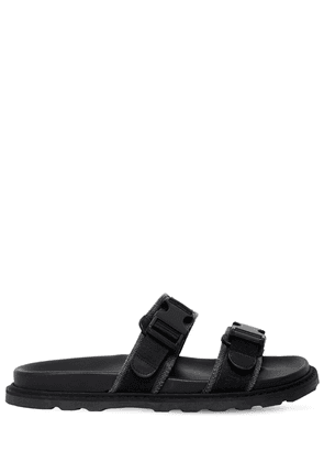 Leather Sandals W/ Buckle Details